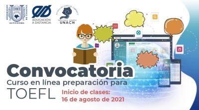 Convocatoria Curso en Línea Preparación para TOEFL