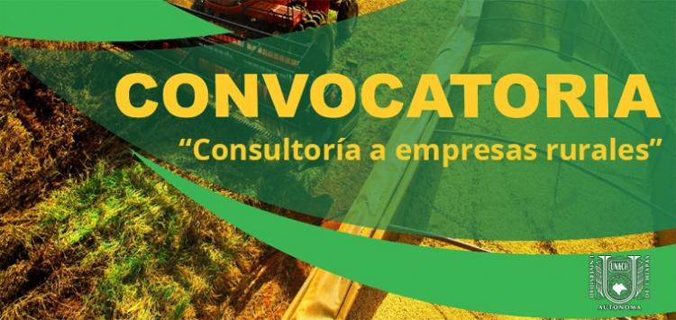 Convocatoria EC0069 Consultoría a Empresas Rurales