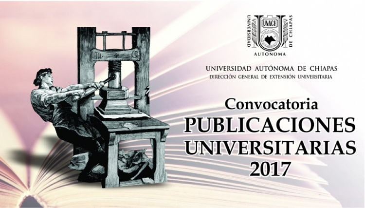 Convocatoria Publicaciones Universitarias