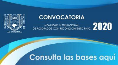 Convocatoria Movilidad Posgrado 2020
