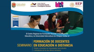 Seminario: formación de docentes en educación a distancia