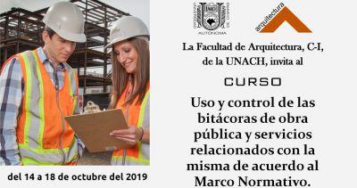 Uso y control de las bitácoras de obra pública y servicios relacionados con la misma de acuerdo al Marco Normativo