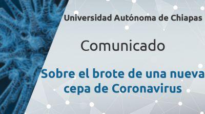Comunicado Sobre el brote de una nueva cepa de Coronavirus