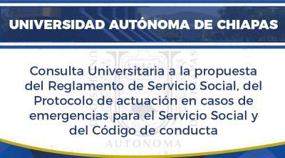 Consulta Universitaria para la Reforma al Reglamento del Servicio Social Universitario