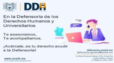 Defensoría de los derechos humanos y universitarios