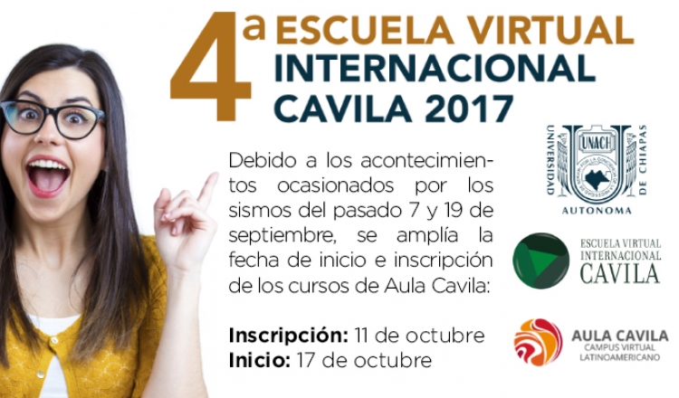 4a. Escuela Virtual Internacional Cavila 2017