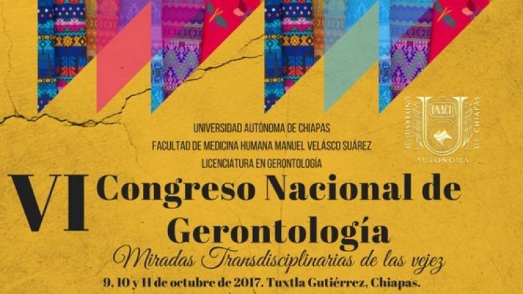 VI Congreso Nacional de Gerontología