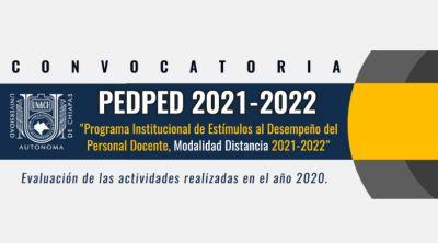 PEDPED 2021 - 2022 Modalidad a distancia