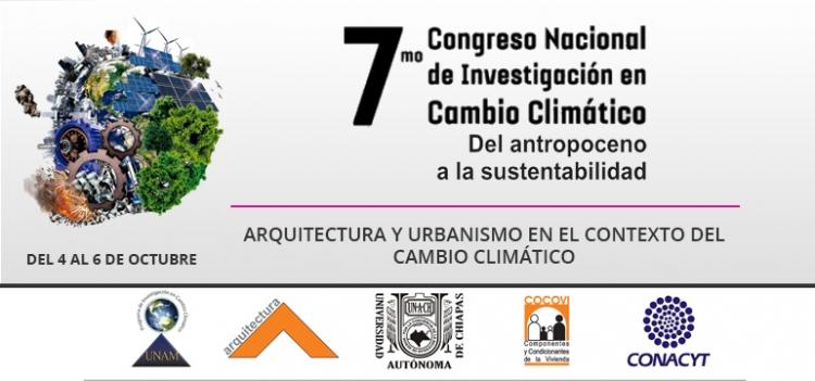 7mo. Congreso Nacional de Investigación en Cambio Cimático