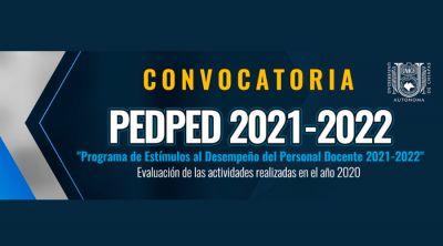Convocatoria: PEDPED 2021 - 2022