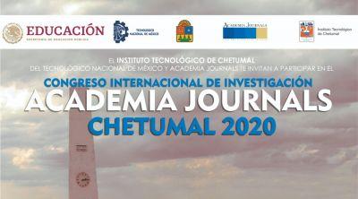 Congreso Academia Journals Chetumal 2020 - Migración a modalidad virtual