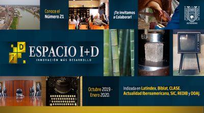 Revista Espacio I+D Octubre 2019 - Enero 2020