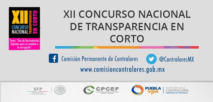 XII Concurso Nacional de Transparencia en Corto