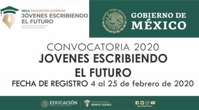 Convocatoria 2020 Jóvenes Escribiendo el Futuro