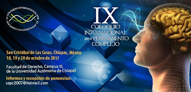 IX Coloquio Internacional por el Pensamiento Complejo