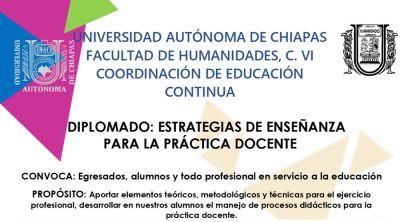 Diplomado: Estrategias de enseñanza para la práctica docente