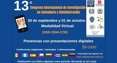 13vo. Congreso Internacional de Investigación en Contaduría y Administración