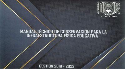 Manual técnico de conservación para la infraestructura física
