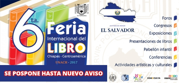 6ta. Feria internacional del libro Chiapas - Centroamérica
