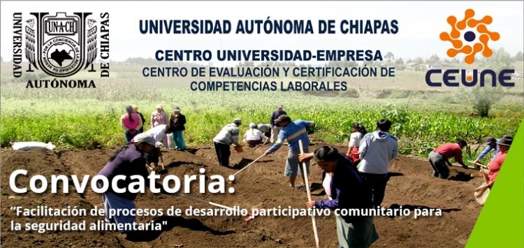Convocatoria EC0439 Facilitación de procesos de desarrollo participativo comunitario para la seguridad alimentaria.