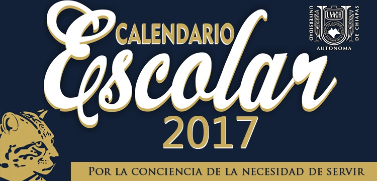 Calendario escolar 2017
