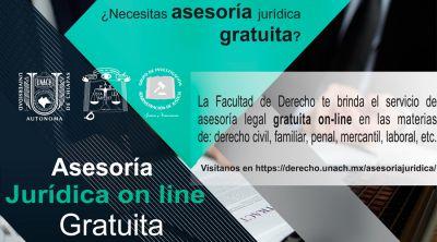 Asesoría legal gratuita on line